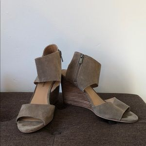 Lucky Brand Open Toe Wedge